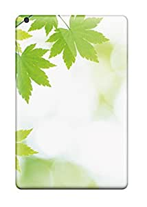 Mini/mini 2 Scratch-proof Protection Case Cover For Ipad/ Hot Fresh Tiny Leaves Phone Case