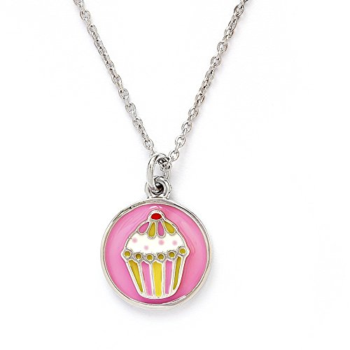 Collection Chrysalis (Chrysalis Wishes Collection Cupcake Pendant Necklace CRNC0002SP)