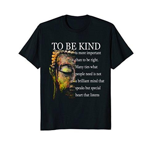 Mens Buddha Quotes T shirt   Meditation T shirt Large Black by Zendoza Buddha T shirts