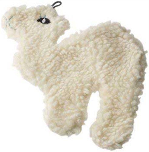 Ethical Fleece Flatties Stuffingless Dog Toy, 9-Inch, My Pet Supplies