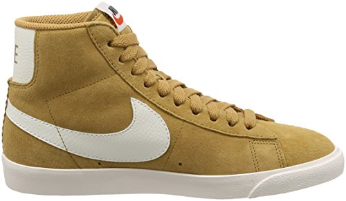 Suede Gold Fitness WMNS Women's Shoes NIKE Blazer Mid Multicoloured Sail VNTG 700 Elemental 6wxXqF