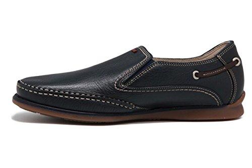 Fluchos 7580 Tornado Negro - Zapato de Caballero Sin Cordones