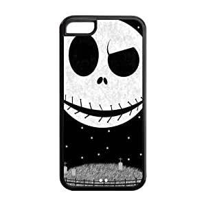 Mystic Zone The Nightmare before Christmas Jack Skellington Back Cover Case for Apple iPhone 5C - MZ5C01062 by runtopwell