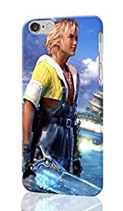 Unique 3D iPhone 6 Plus Case - Final Fantasy X Photo Image Durable Hard Case 3D Cover Rough Skin For iPhone 6 PLUS With 5.5-inches Design By Ondone