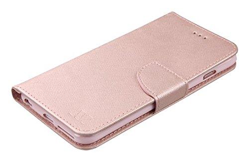 MyBat Wallet Case for APPLE iPhone 6s/6 - Rose Gold Pattern/Rose Gold Liner