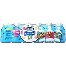 Nestle Pure Life Purified Water, 8-Ounce Share-A-Smile Plastic Bottles (Pack Of 24)