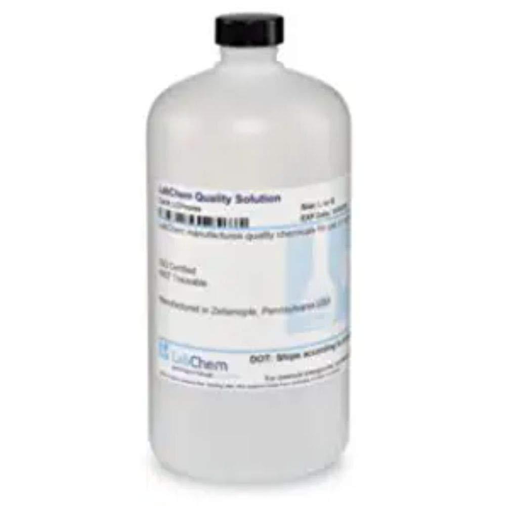 LabChem LC193002 Potassium Hydroxide Solution, 0.1N (0.1M), 1 L Volume