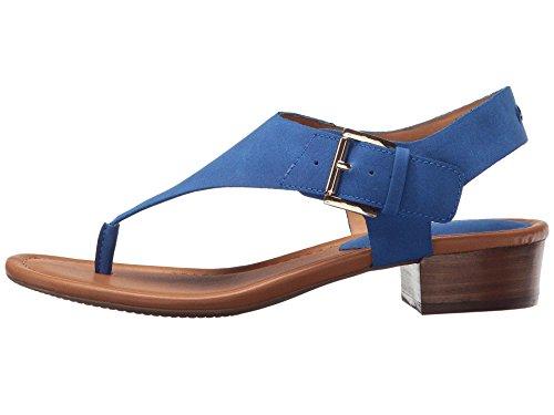 Tommy Hilfiger Frauen Kitty Offener Zeh Leger T-Strap Sandalen Medium Blue LL