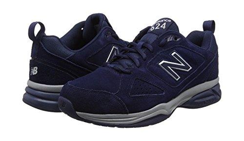 Pour Bleu De pigment En Balance New Chaussures Homme Salle Eu 42 Nv4 624 Sport xzq0vRw