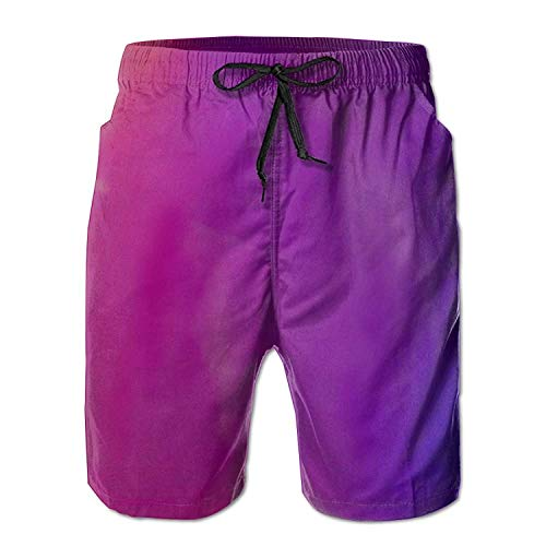 Womens Dazzle Softball Shorts - Man's Quick Dry Dazzle Color Swim Trunks Summer Exercise Casual Shorts with Pockets Large