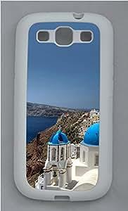 Samsung Galaxy S3 I9300 Case,Samsung Galaxy S3 I9300 Cases - Santorini TPU Polycarbonate Hard Case Back Cover for Samsung Galaxy S3 I9300¨CWhite