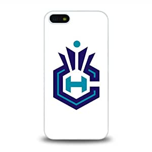 iPhone 5 5S case protective skin cover with NBA Charlotte Hornets Team Logo 2014 Latest - 9