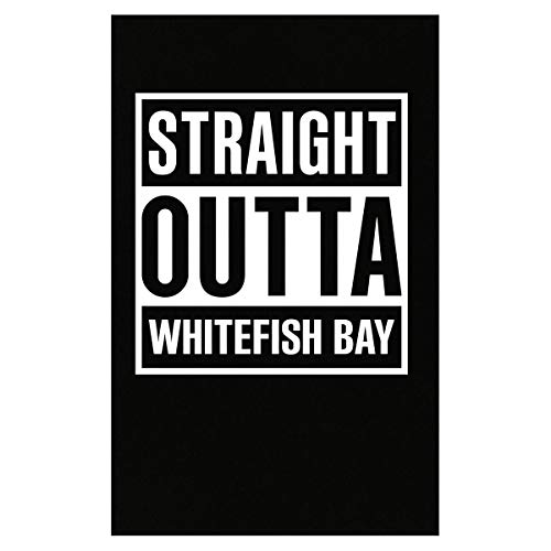(Inked Creatively Straight Outta Whitefish Bay City Poster)