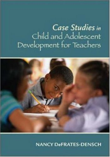 child and adolescent studies Students enrolled in walden university's bs in child development program with a concentration in child and adolescent studies have the.
