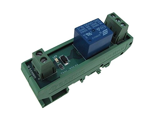 1 Channel 12VDC Relay Board PLC DIN Rail (1 Din Rail)