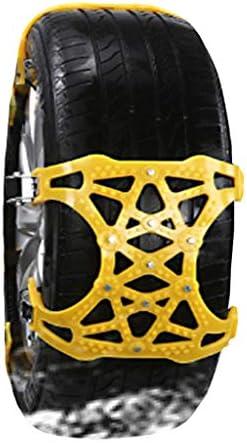 車のホイールタイヤスノーチェーン タイヤチェーン 軽自動車 スノーチェーン(165から275)マウント緊急トラクションへの容易なポータブルタイヤのアンチスキッド 車の滑り止め緊急スノータイヤチェーン (Color : 12, Size : (165-275))