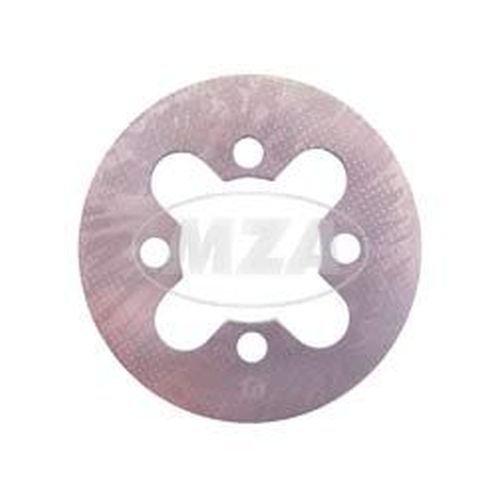 Steel Clutch Plate Clutch Disc 1.5 mm - M53 SIMSON Engine M54/11 Rhine Metal Motor RH50 KRO RH50: