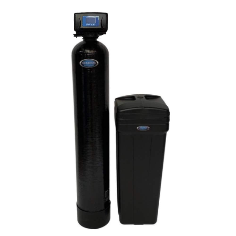 """Discount Water Softeners Genesis Premier 40,000 Grain Water Softener,1.25"""" Digital Metered, On Demand, High Efficiency Up Flow"""
