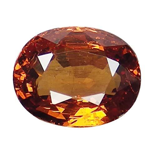 0.96 Ct. Natural Oval Orange Spessartine Garnet Loose Gemstone