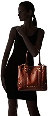 FRYE Melissa Stud Leather Tote Bag