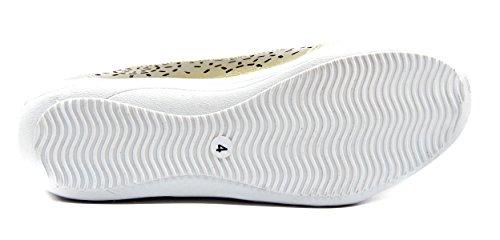 Scarpe Donne Confortevole Le Per Loafers Tacco Realizzati Da Barca Testa Casuali Pelle Comodi Rotonda Basso Knixmax Mocassini Oro In Piatto qB6Ivv