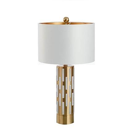 Europeo Creativo Simple Hierro Labrado Lámpara de Mesa de ...