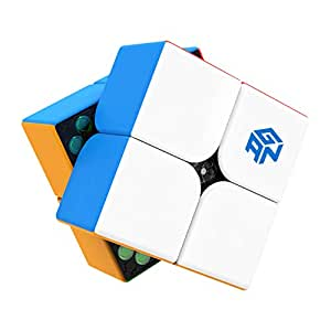 RONSHIN 2x2 Magnetic Speed Cube GAN 251M Magic Cube Color