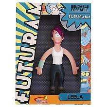 Futurama Leela Bendable Toy by NJ Croce -