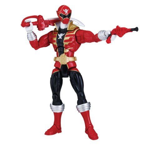 Power Rangers Super Megaforce - Armored Super Mega Red Ranger Action Figure (Power Rangers Jungle Fury Red Ranger Toy)