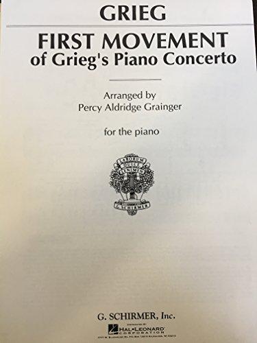Grieg Piano Concerto Sheet Music - 8