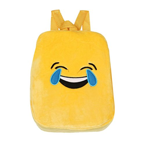 Bag C Bag School ADESHOP Cute Bag Backpack Clearance Emoticon D Emoji Boys Girls Double Soft Sales Shoulder 1p800Zn7