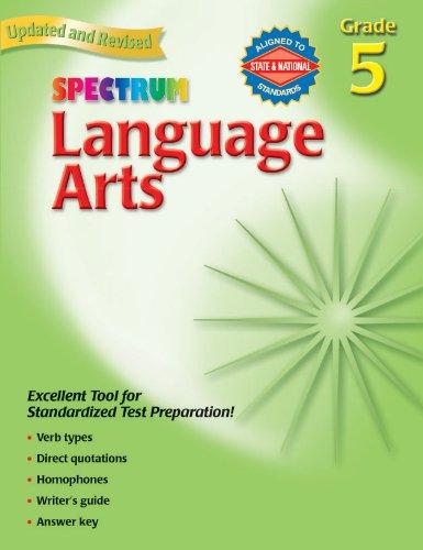 Spectrum Language Arts Grade 5 0087577930053