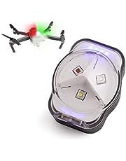 $25 » LUCORB Drone Anti-Collision Strobe Light FAA Night Flight Drone Led Lights with Battery Indicators,300mAh 3 Colors 4 Modes, Fits DJI Mini, Mavic air 2, Mavic Pro, Phantom, Inspire, Zoom
