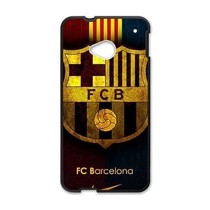 Amazon.com: FCB Barcelona Black htc m7 case: Cell Phones ...