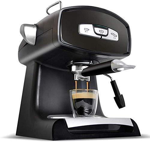 NLRHH Cafetera de café de café Espresso 220V 850W Máquina de café Italia Fancy Coffee Making Machine 1.2L 5-8 Tazas Peng