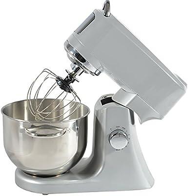 Silver ef706 Kitchen chef-Robot de cocina multifunción 1000w 4,7 L, color plateado: Amazon.es: Hogar