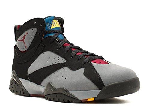 Nike Air Jordan 7 VII Retro Bordeaux Black/Light Graphite-Bordeaux Mens Shoes 304775-003-12