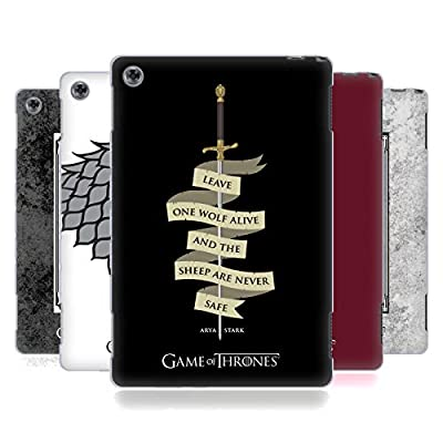 Official HBO Game of Thrones Graphics Soft Gel Case for Huawei MediaPad M5 Lite