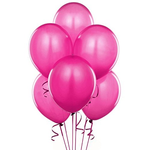 Balloons Latex Hot Pink - LOKMAN 12