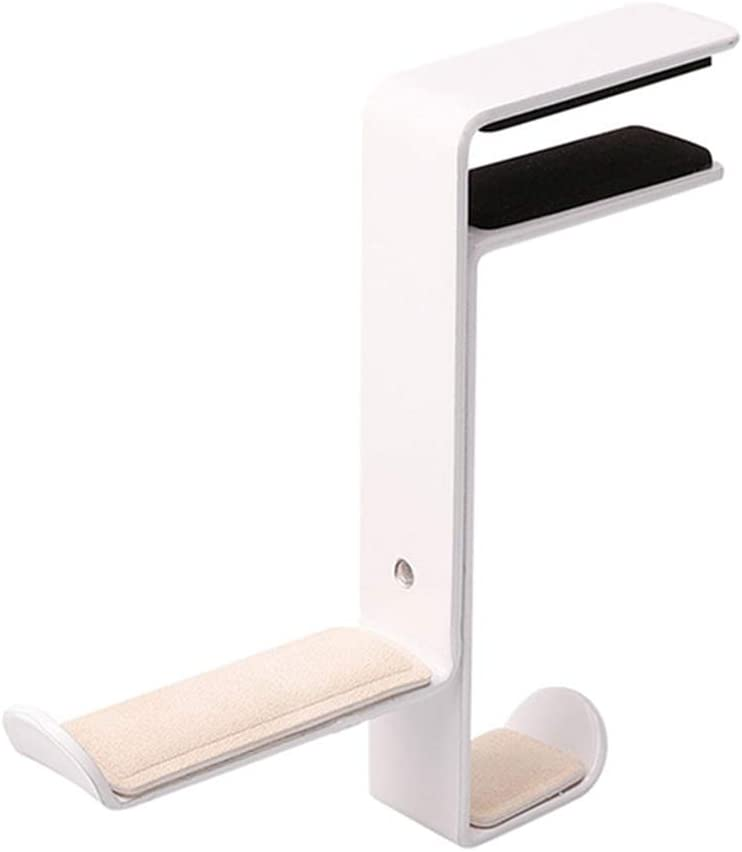 CHDHALTD Headphone Stand Hanger,Headset Holder Mount,Foldable Headphone Stand Under Desk PC Gaming Headset Hanger Holder Headset Bracket Space Save Mount Storage