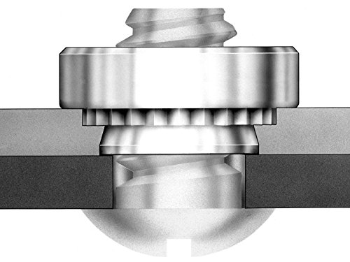 Pem Self-Clinching Nuts Unified SP Types S S-0813-2ZI SS CLSS CLS