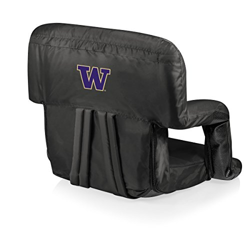 Logo Reclining Recliner - NCAA Washington Huskies Ventura Portable Reclining Seat