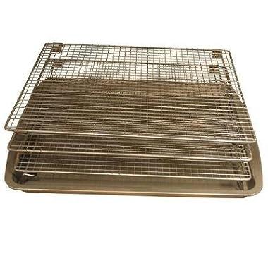 Weston Nonstick 3-Tier Drying Rack and Baking Pan