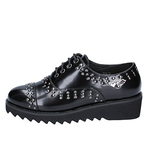 Braccialini Femme de Lacets Noir Noir à Ville Chaussures pour Cnq56CPHw