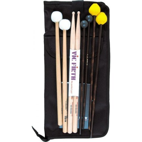 Percussion Drumstick - Vic Firth EP2 Intermediate Education Pack (includes SD2, M3, M6, T3, BSB)
