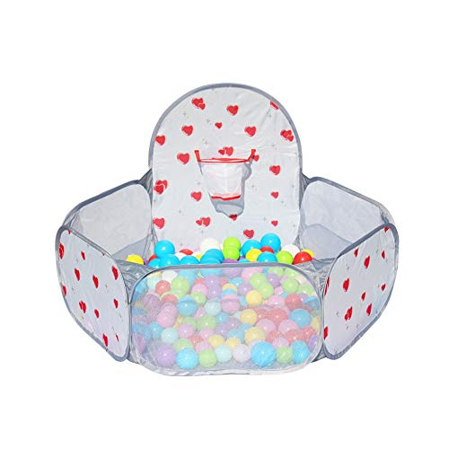 - Kids Ball Pool, Ball Pit House Hideaway Pop-Up Play Tent, Outdoor Play Tent Pit Ball Pool and Children Indoor Outdoor (Color : Gray)