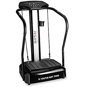 LifePro Rhythm Viberation Plate Machine – Professional Whole Body Vibration Platform for Home Fitness – Viberation Excersize Machine for Awesome Cardio Workout & Weight Loss