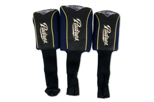 MLB San Diego Padres 3 Pack Mesh Longneck Headcover Set by WinCraft