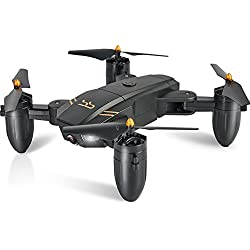 ScharkSpark Drone with Camera for Beginners with 2 Batteries