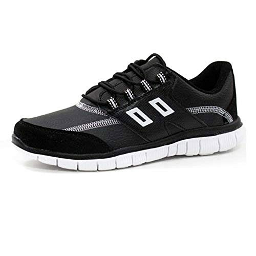 Trainers White Shoe Gym Womens Shock Fitness Ladies Running Absorbing Shoes Trainer Black w0wX6qPT
